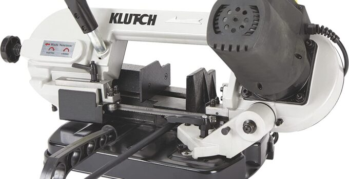 Klutch Benchtop Metal Cutting Band Saw Review