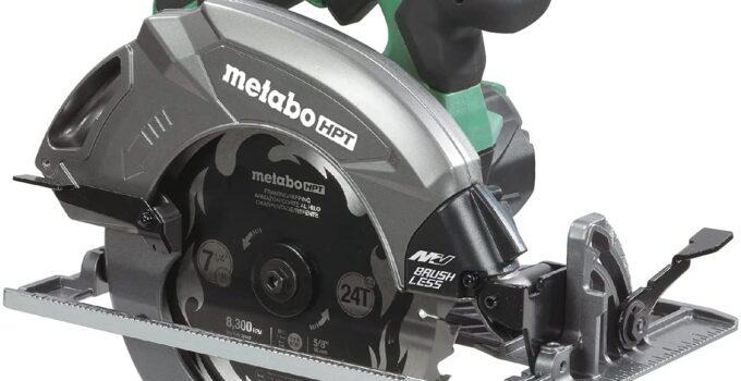 Metabo C3607DAQ4 HPT 36V MultiVolt Cordless Circular Saw Review