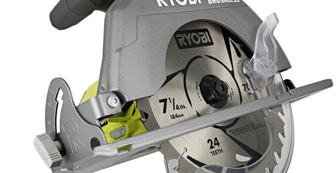 Ryobi P508 One+ 18V Cordless Brushless 7 1/4 Circular Saw Review